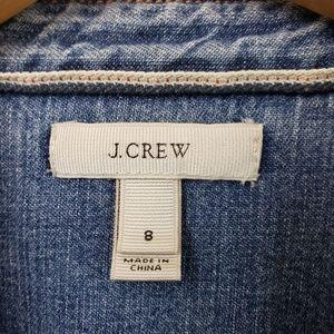 J. Crew Tops - J. Crew Western denim button up shirt